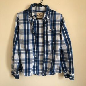Hollister men's flannel